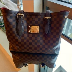 Louis Vuitton Damier Hampstead MM Handbag